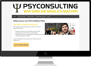 Psyconsulting Webdesign